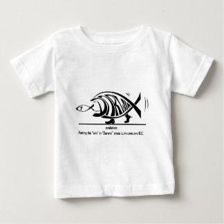 Camiseta Para Bebê Evolução