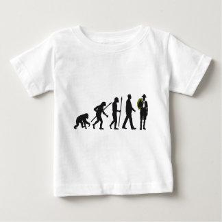 Camiseta Para Bebê Evolução scout