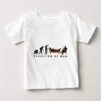 Camiseta Para Bebê Evolução Therapist Psychologist