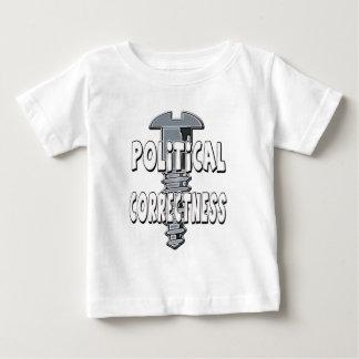 Camiseta Para Bebê Exatidão política do parafuso