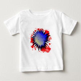 Camiseta Para Bebê Exclamação cómica de intervalo mínimo