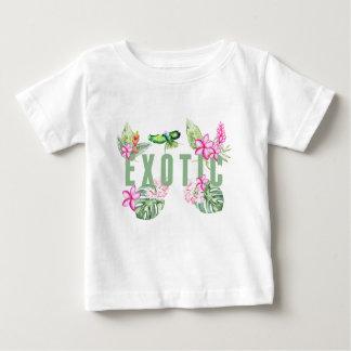 Camiseta Para Bebê Exotic