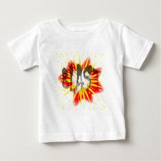 Camiseta Para Bebê Explosão cómica