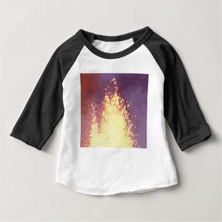 Camiseta Para Bebê explosão do fogo