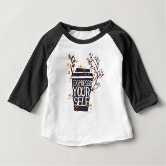 Camiseta Para Bebê expresso seu auto