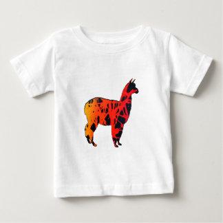 Camiseta Para Bebê Expressões do lama