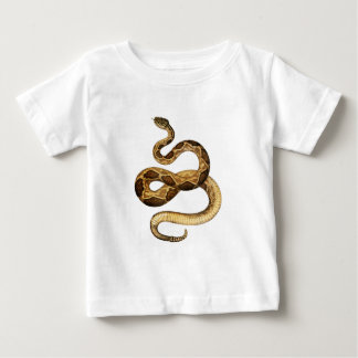 Camiseta Para Bebê Expressões Slithering