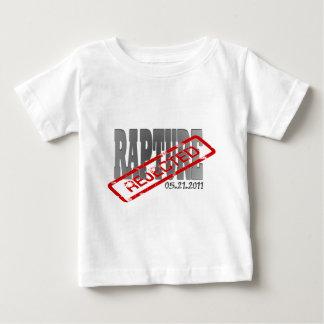 Camiseta Para Bebê Êxtase 21 de maio de 2011 REJEITADO!