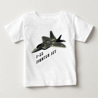 Camiseta Para Bebê F-22 avião de combate, raptor