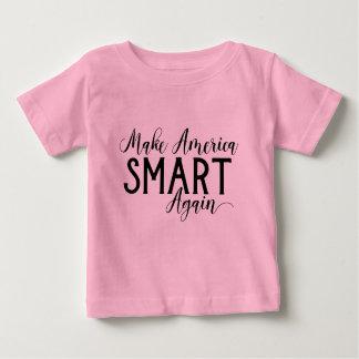 Camiseta Para Bebê Faça a resistência do Anti-Trunfo de América Smart