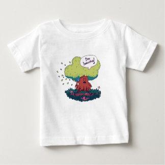 Camiseta Para Bebê Faça como uma árvore
