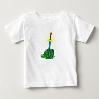 Camiseta Para Bebê faca da espada da árvore