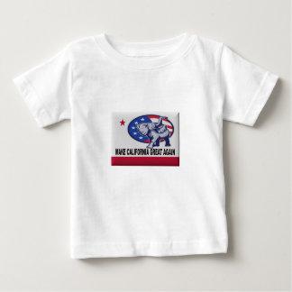 Camiseta Para Bebê Faça o excelente de Califórnia outra vez