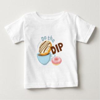 Camiseta Para Bebê Faça o mergulho