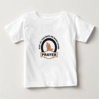 Camiseta Para Bebê faça todo seu quer e os desejos conhecidos