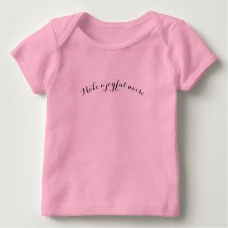 Camiseta Para Bebê Faça um ruído alegre