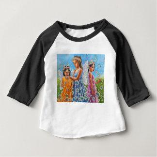Camiseta Para Bebê Fadas da bolha
