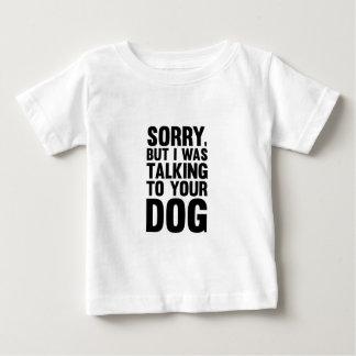 Camiseta Para Bebê Fala a seu cão