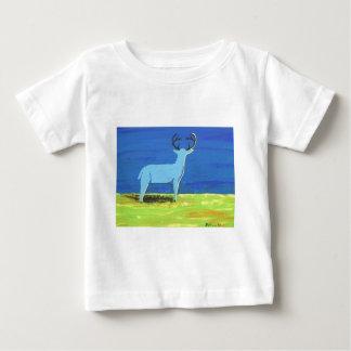 Camiseta Para Bebê Fanfarrão azul