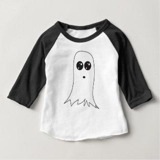 Camiseta Para Bebê Fantasma amigável