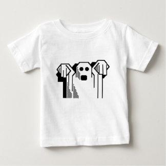 Camiseta Para Bebê Fantasma assustador
