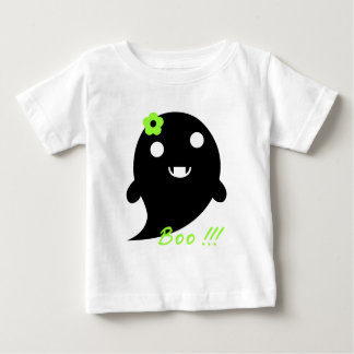 Camiseta Para Bebê Fantasma bonito do Dia das Bruxas