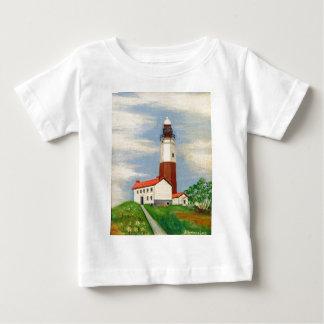 Camiseta Para Bebê Farol de Montauk