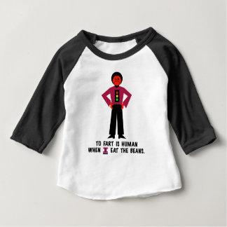 Camiseta Para Bebê Fart é humano