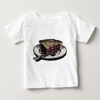 Camiseta Para Bebê Fatia de torta de maçã