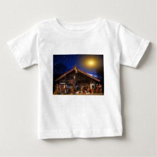 Camiseta Para Bebê Favor da história do Natal
