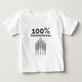 Camiseta Para Bebê Fazendeiro de Saskatchewan