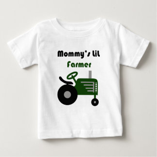 Camiseta Para Bebê Fazendeiro do Lil da mamã