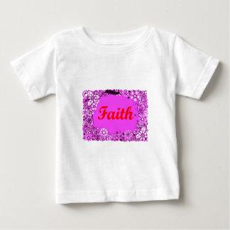 Camiseta Para Bebê Fé 3