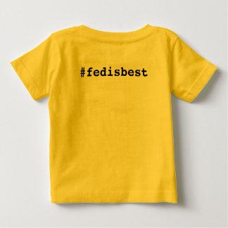 Camiseta Para Bebê Fed é melhor t-shirt original do bebê do logotipo