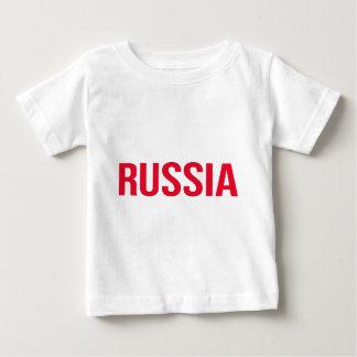 Camiseta Para Bebê Federação Russa Putin União Soviética CCCP de