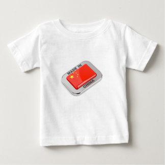 Camiseta Para Bebê Feito em China