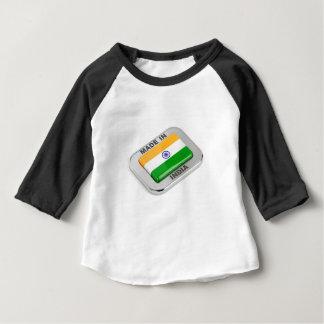 Camiseta Para Bebê Feito em India