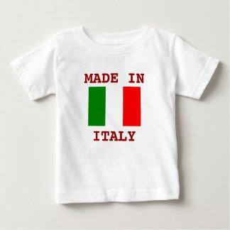 Camiseta Para Bebê Feito em Italia