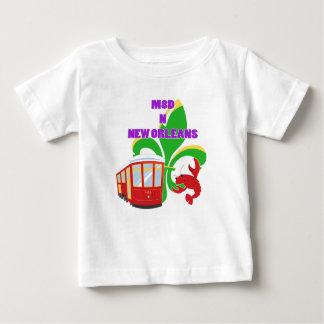 Camiseta Para Bebê Feito em Nova Orleães