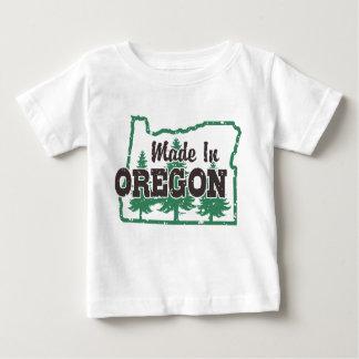 Camiseta Para Bebê Feito em Oregon