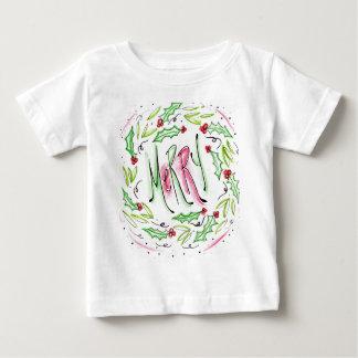 Camiseta Para Bebê Feliz