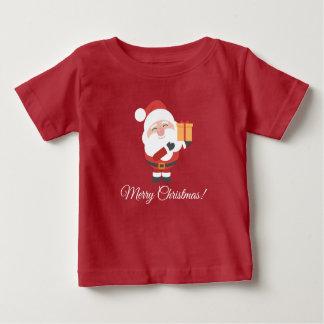 Camiseta Para Bebê Feliz Natal