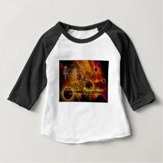 Camiseta Para Bebê Feliz Natal uma escorregadela boa no ano novo