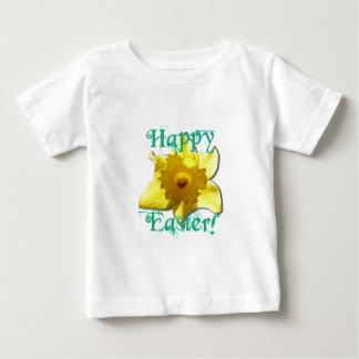 Camiseta Para Bebê Felz pascoa, Daffodil 01.2.T