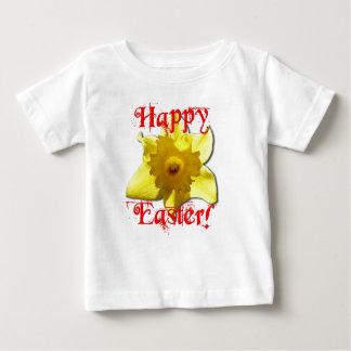 Camiseta Para Bebê Felz pascoa, Daffodils 02.T