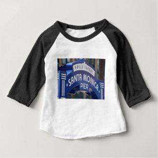 Camiseta Para Bebê Feriado da praia de Califórnia da praia de Santa