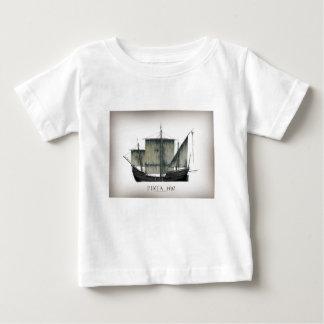 Camiseta Para Bebê Fernandes 1492 tony de Pinta