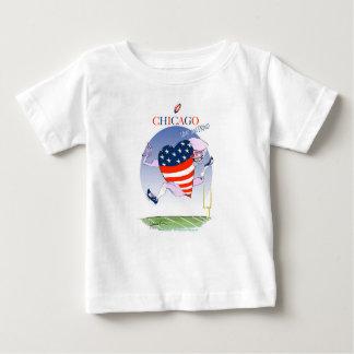 Camiseta Para Bebê Fernandes tony altos e orgulhosos de Chicago,