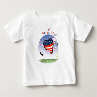 Camiseta Para Bebê fernandes tony altos e orgulhosos de Geórgia,