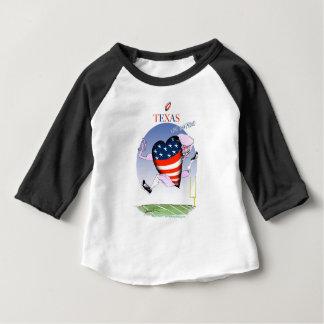 Camiseta Para Bebê fernandes tony altos e orgulhosos de texas,